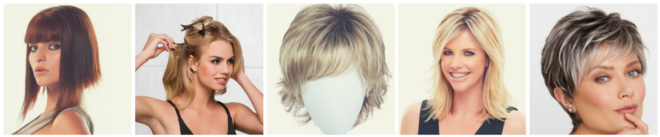 Mike and Liz - Home Wigs Collage